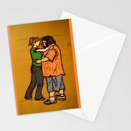 come back with me Stationery Cards