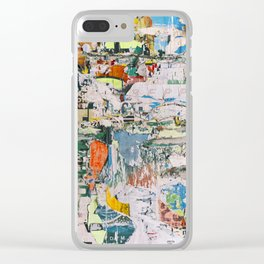 Street collage 1 Clear iPhone Case