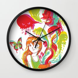 Pop Goes Disaster Wall Clock