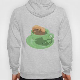 Baby Chick in Jadeite Cup Illustration Hoody