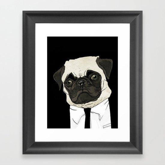 puggetaboutit Framed Art Print