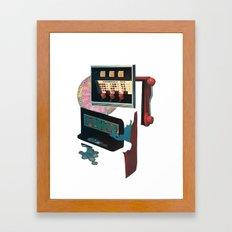goofbutton collaboration - leftovers Framed Art Print