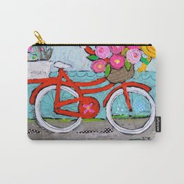 Chase Your Dreams Bicycle Art Carry-All Pouch