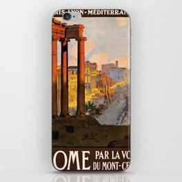Vintage poster - Rome iPhone Skin