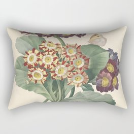 Flower primula auricula 210 Rectangular Pillow