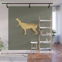 EXTINCT: Thylacine (Tasmanian Tiger) Wall Mural