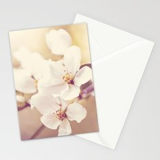 Pastel Apple Bloom Stationery Cards