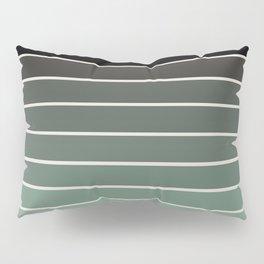 Gradient Arch - Green Tones Pillow Sham