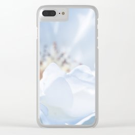 Blue Texture II Clear iPhone Case