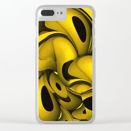 Squeezed Clear iPhone Case