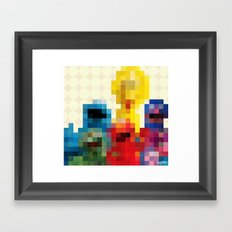 Sesame Framed Art Print