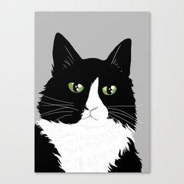 Henri the Existential Cat Canvas Print