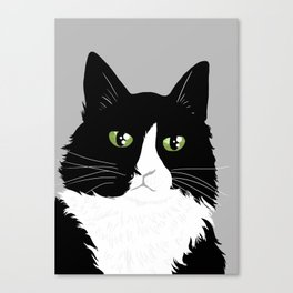 Henri the Existential Cat Canvas Print