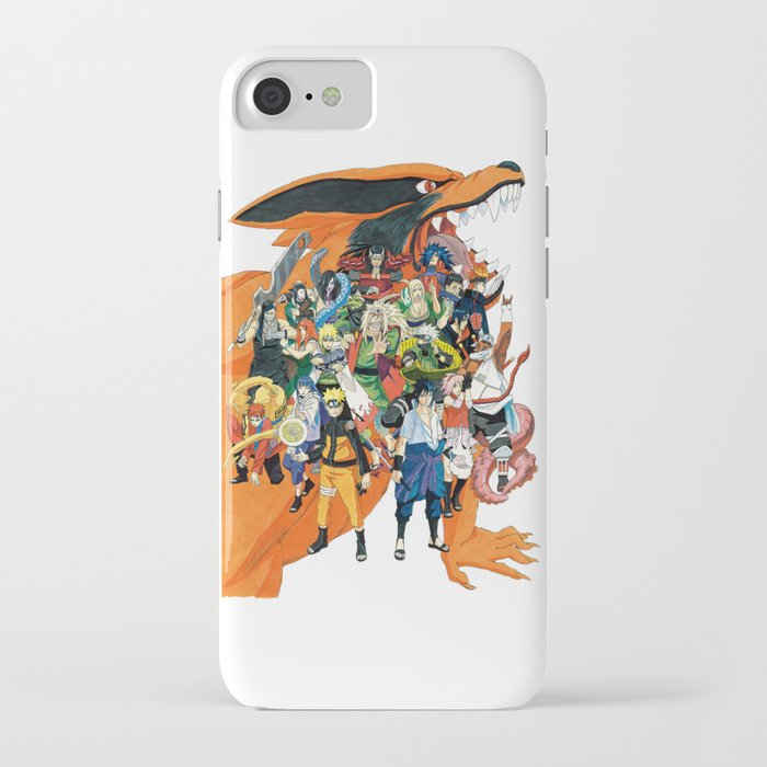 naruto shippuden iphone case