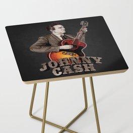 Johnny Cash Side Table
