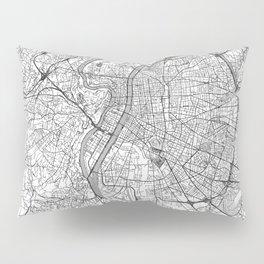 Lyon Map Line Pillow Sham