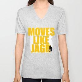 Moves Like Jagr Unisex V-Neck