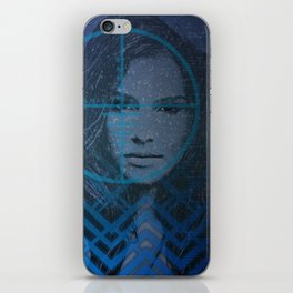 Cyber Snow Queen 1 iPhone Skin