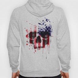 America Skull Artwork Hoody