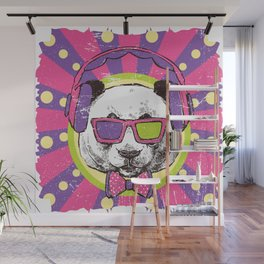 Funky Panda Wall Mural