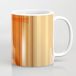 Retro Art orange Coffee Mug