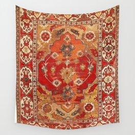 Transylvanian West Anatolian Carpet Print Wall Tapestry