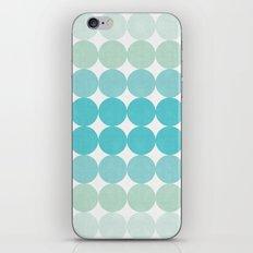 Minimalist circles iPhone & iPod Skin