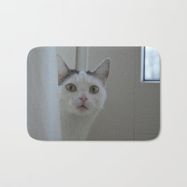 Green eyes Bath Mat