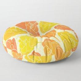 Summer Poppies Floor Pillow