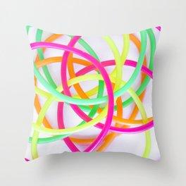 Fluor Throw Pillow