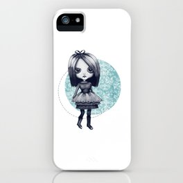 Gothy Girl iPhone Case