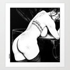 asc 656 - La chanson d'amour (Let me be your muse) Art Print