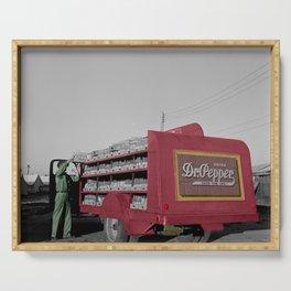 Vintage Dr Pepper Truck Serving Tray