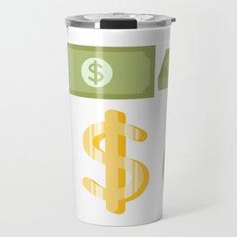Business Goals Travel Mug