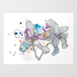 Palo Borracho Art Print