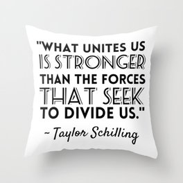 Taylor Schilling Quote Throw Pillow