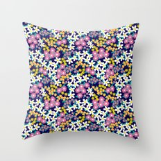 Ditsy Floral Throw Pillow