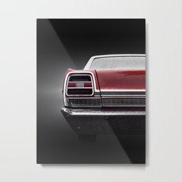 US American classic car 1969 Torino Metal Print