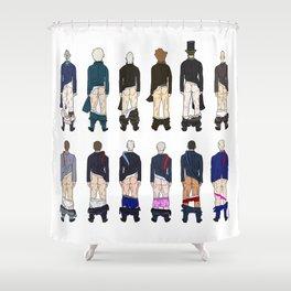 President Butts LV Shower Curtain