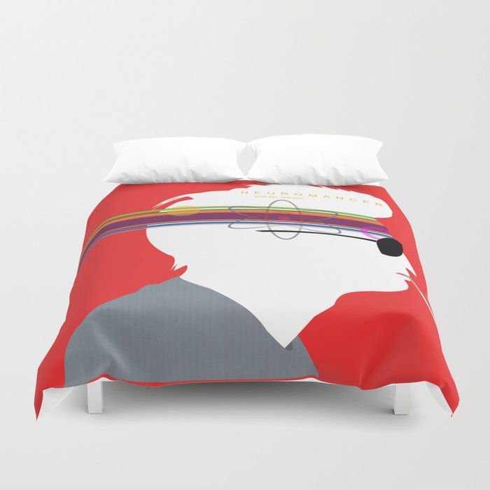 Neuromancer Duvet Cover
