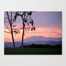 Saddleback Sunset Canvas Print