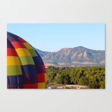 Up Up and Away in Boulder, Colorado Canvas Print