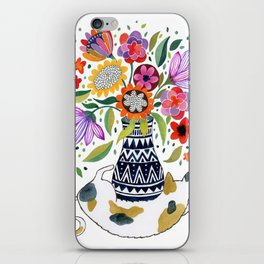 Calico Bouquet iPhone Skin
