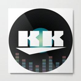 DJ KK Metal Print