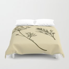 Dill Botanical Duvet Cover