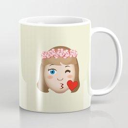Flower Girl's Kiss Coffee Mug