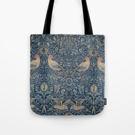 William Morris Bird Pattern Tote Bag