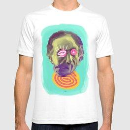 Readymade Marcel, POP art style, digitally painted T-shirt