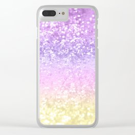 Unicorn Girls Glitter #4 #shiny #decor #art #society6 Clear iPhone Case