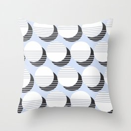 Simple Circle Pattern Throw Pillow